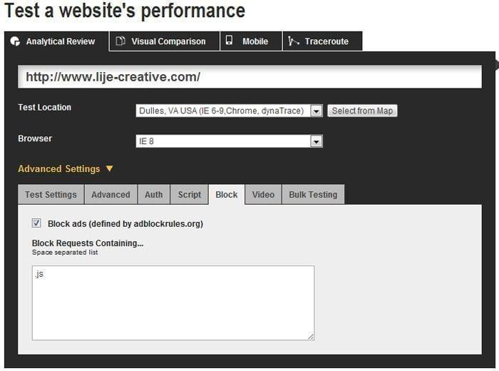 accelerer site internet