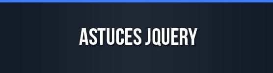 astuces jquery