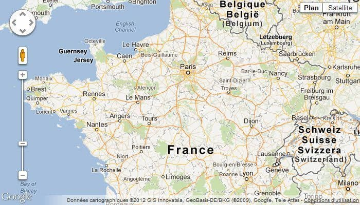 Google Map France Google Maps France Pictures To Pin On - Goohlemap