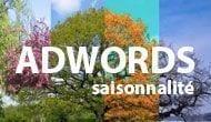 Memo Adwords : la saisonnalité par secteur d'activité
