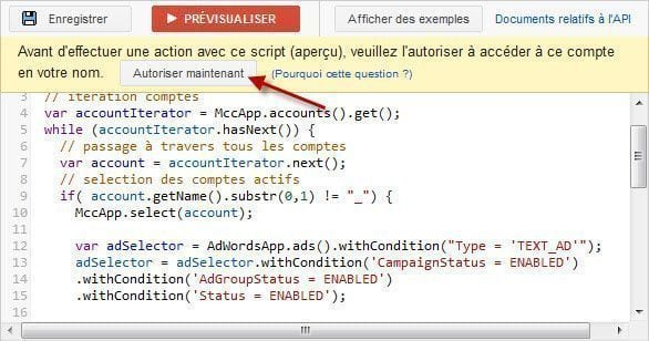 autorisation-script-adwords