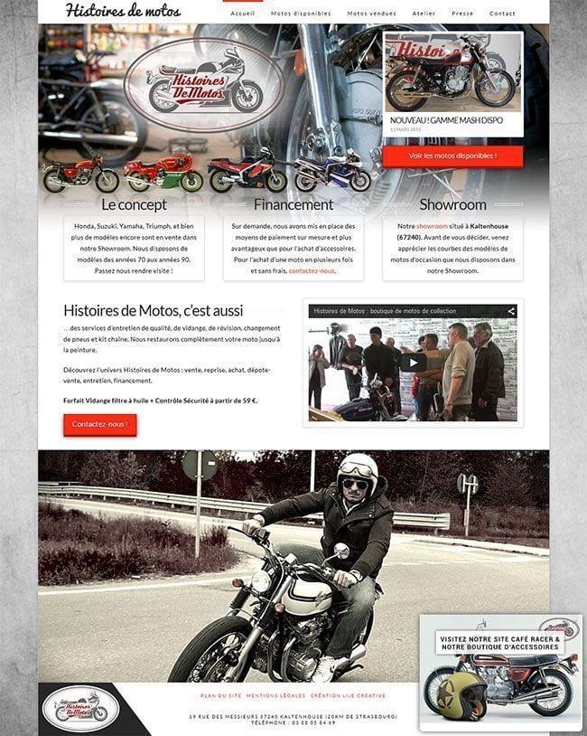 histoires de motos